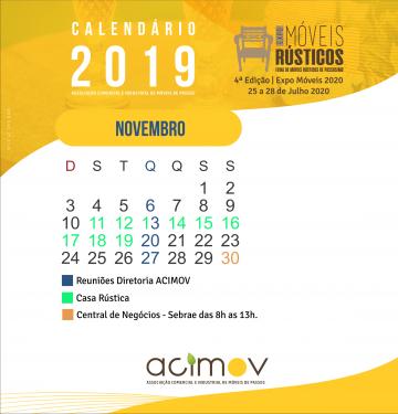 Calendário Novembro