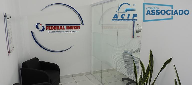 Vitrine do Associado: Federal Invest Passos