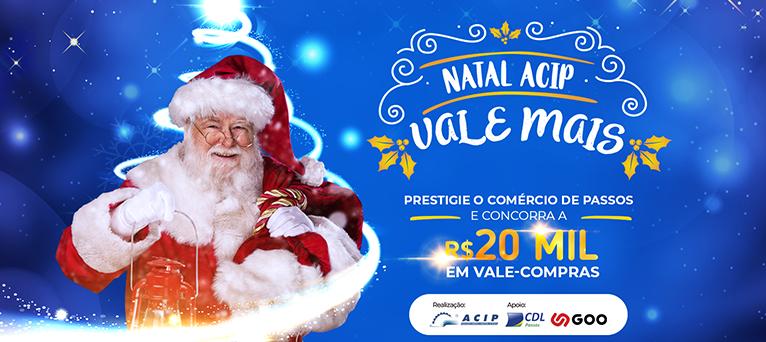 Campanha: Natal ACIP Vale mais!