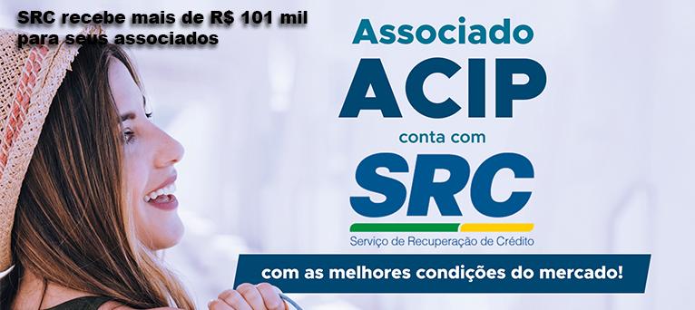 SRC recebe mais de R$ 101 mil para seus associados