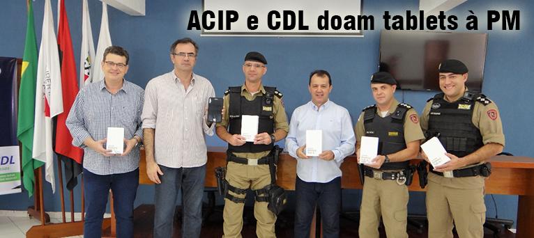 ACIP e CDL doam tablets à PM