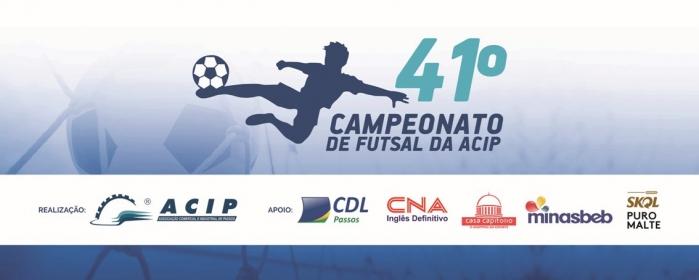 Patrocinadores Campeonato de Futsal ACIP 2019