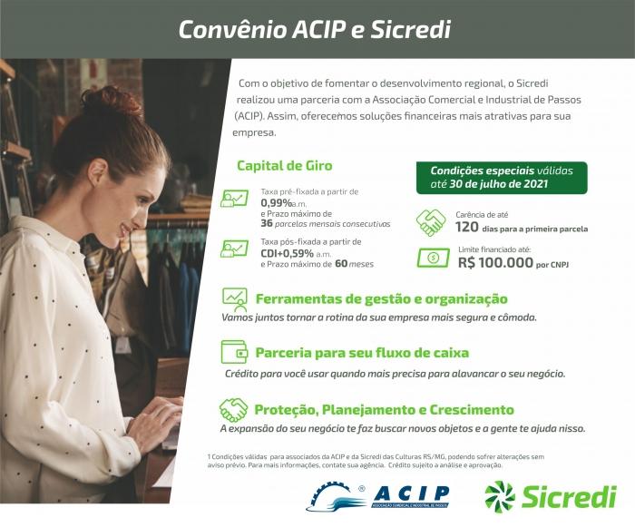 Parceria ACIP/Sicredi