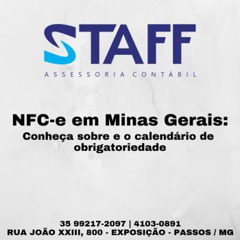 Contato: Staff Assessoria Contábil