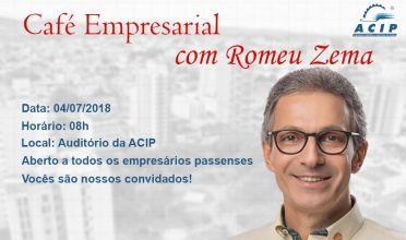ACIP promove Café Empresarial
