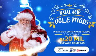 Campanha de Natal vai distribuir 40 vales-compras