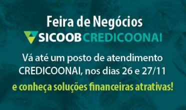 Sicoob Credicoonai realiza Feira de Negócios em Passos