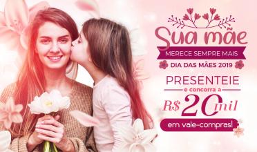 Dia das Mães: ACIP vai distribuir 40 vale-compras