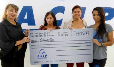 Dia das Mães: ACIP entrega R$ 20 mil em vale-compras