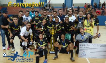 Contabilidade Pacheco/Borússia é o campeão do torneio da ACIP