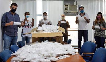 COVID-19: Acip, CDL e SindPass doam 10 mil máscaras ao município