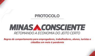 Minas Consciente: comércio, eventos e hotéis são liberados na onda vermelha