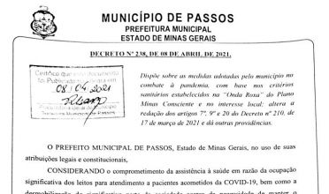 Prefeitura autoriza reabertura do comércio