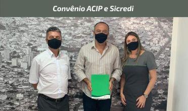 Sicredi e ACIP firmam convênio de cooperação para impulsionar desenvolvimento