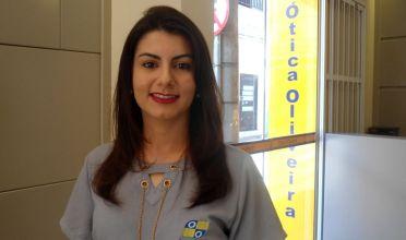 Patrícia Souza é a colaboradora do mês