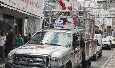 Caminhão de Natal da ACIP volta mais bonito este ano