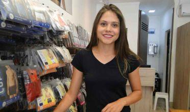 Paula, da Arte Meias, é a Colaboradora do Mês