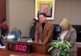 André Valadão Ora na Prefeitura de Orlando
