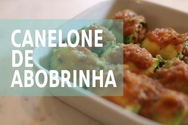 Canelone De Abobrinha