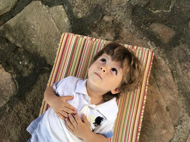 Pequeno e sonhador Rafael