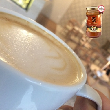 Capuccino De Leite De Coco Com Café Caramello