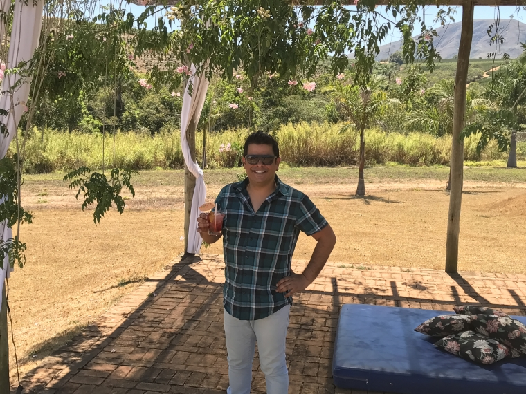 Fernando Freire, proprietário e chef da Pousada Tabuleiro