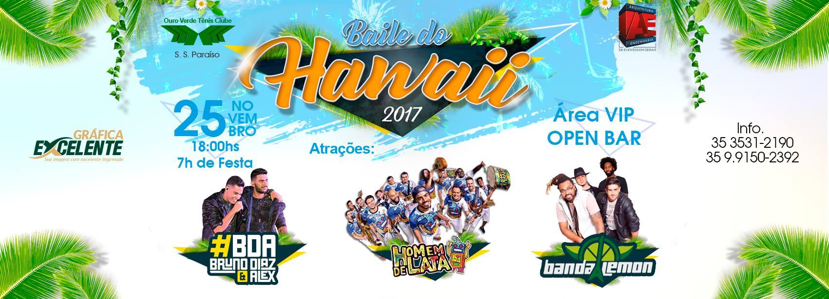 Ouro Verde - Baile do Hawaii 2017