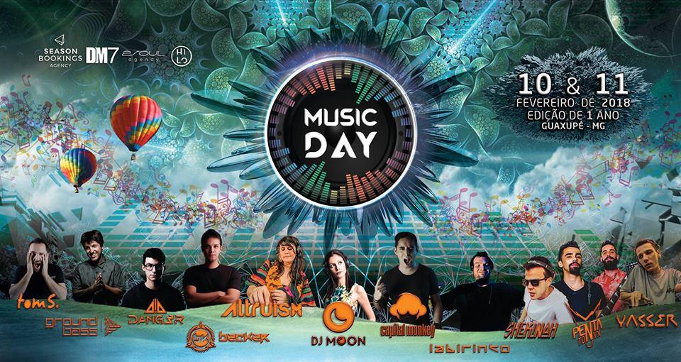 Music Day - Edição de 1 ANO (Oficial) dias 10 e 11 de Fevereiro/ Guaxupé-MG