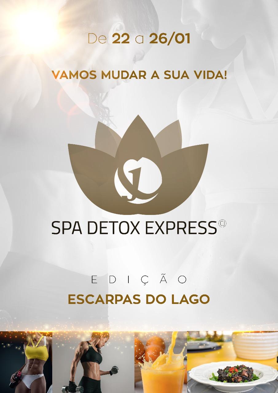SPA Detox Express - de 22/01 a 26/01 / Escarpas do Lago-MG