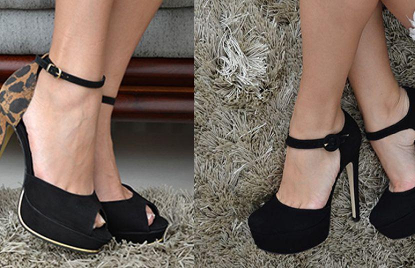 #MothersDay - Preto & Branco Calçados
