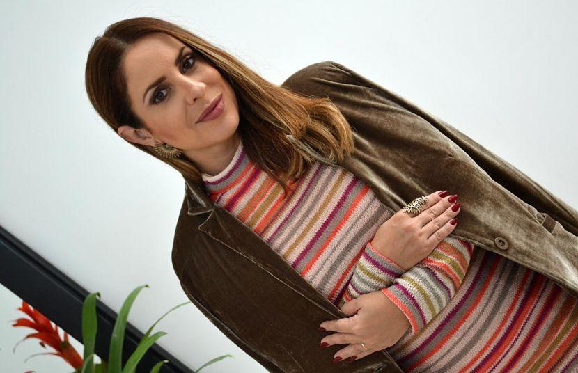 Listras + Veludo - Maria Bella