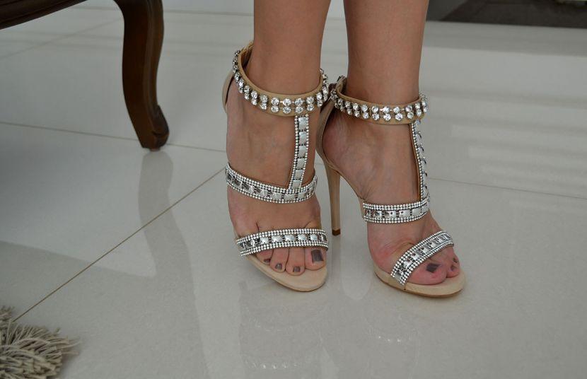 #Glam - Preto & Branco Calçados