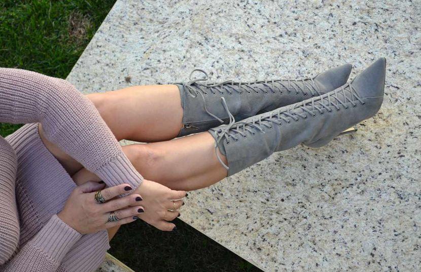 #MustHave - Botas de Cano médio para P&B Calçados