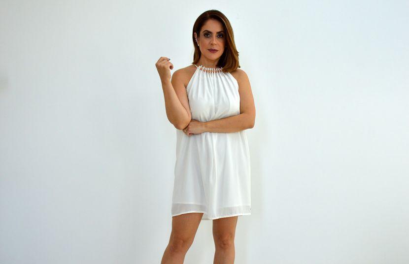 #DzarmAlfenas - Vestido Branco !