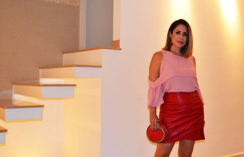 #OOTN - Rosa + Vermelho
