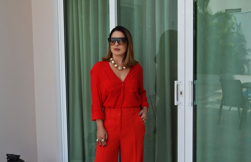 #OOTD - Lady in red !