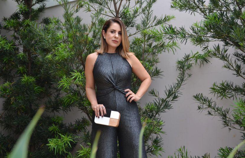 #DzarmVipStore - Macacão pantacourt + Lurex