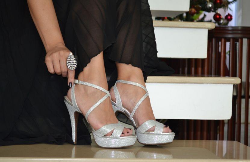 #Shine - Preto & Branco Calçados !