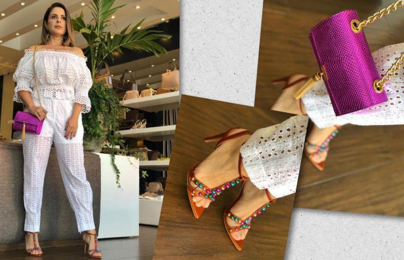 #Verão20 - Preto & Branco Calçados