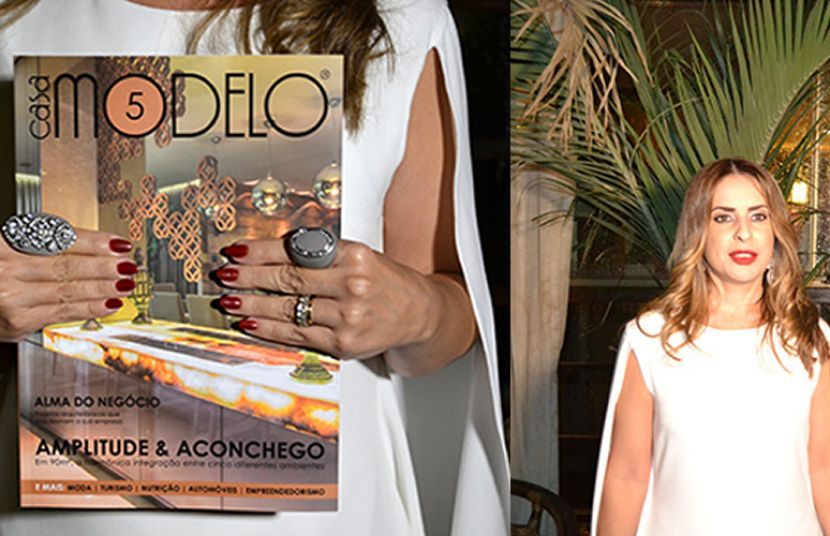 "Look Of The Night - Lançamento Revista ""Casa Modelo 5"""
