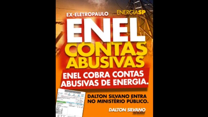ENEL COBRA CONTAS ABUSIVAS DE ENERGIA!!!