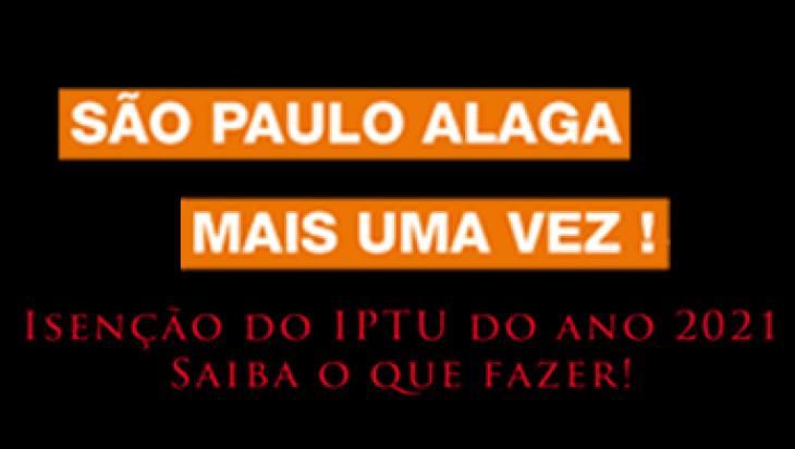SÃO PAULO ALAGA MAIS UMA VEZ !