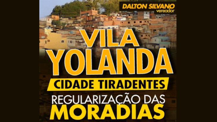 REGULARIZAÇÃO DAS MORADIAS VILA YOLANDA E JARDIM VITÓRIA