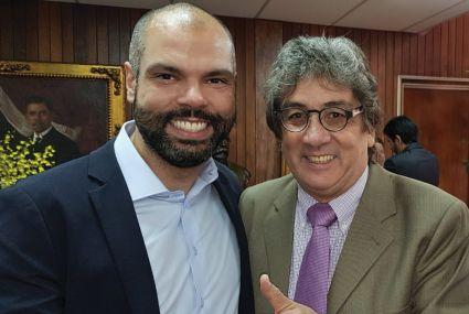 Bruno Covas e Dalton Silvano