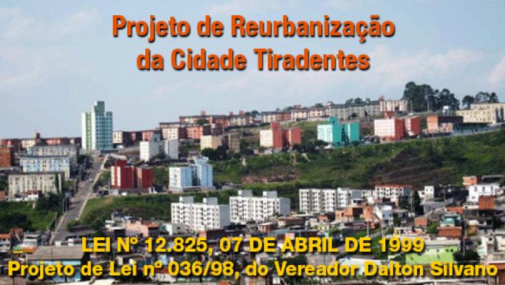 Projeto de Reurbanização da Cidade Tiradentes