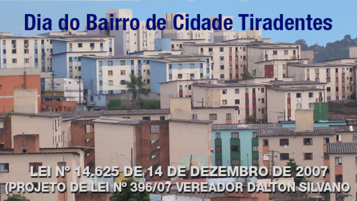 Dia do Bairro de Cidade Tiradentes