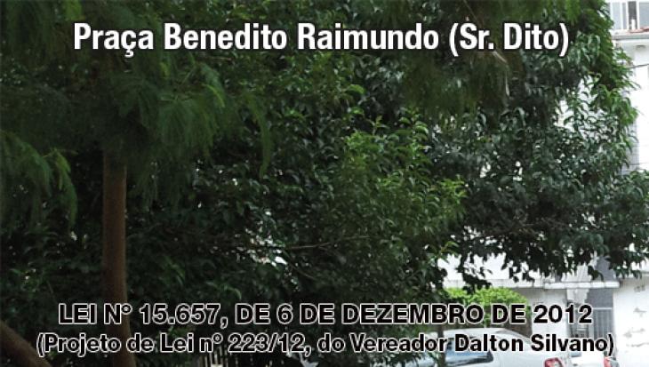 Praça Benedito Raimundo (Sr. Dito)
