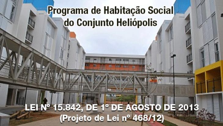Programa de Habitação Social do Conjunto Heliópolis