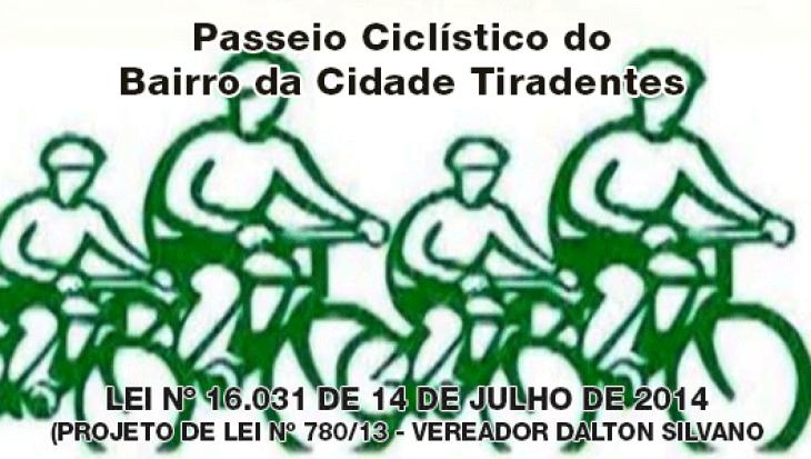 Passeio Ciclístico do Bairro da Cidade Tiradentes
