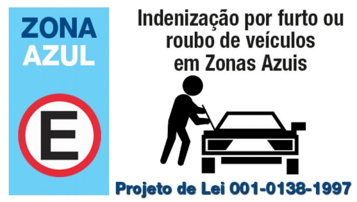 Indenização por furto ou roubo de veículos em Zonas Azuis